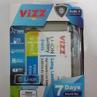 Baterai Battery Vizz Xiaomi Redmi Note 2 BM45 Original Double Power