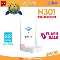 Tenda N301 3 in 1 Wireless ROUTER+Access Point+EXTENDER WIFI 301 AP