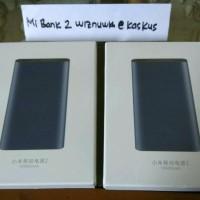 Xiaomi Powerbank 2 Mi Power Bank Slim 10 000 mAh Fast Charging Black
