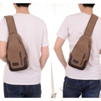 Bodypack Bag Tas Selempang Pria / Men Sling Shoulder Bags 6017 A549