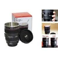 Mug lensa/Lens cup/gelas/thermos lensa Canon EF 24-105mm - Hitam