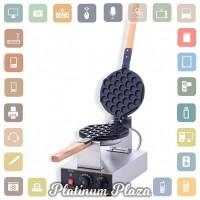 Mesin Cetakan Kue Egg Waffle Hongkong Style 220V/110V - Silver`F4RJGN-