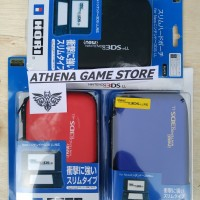HORI AIRFORM CASE HARD POUCH DOMPET NEW NINTENDO 3DS LL XL