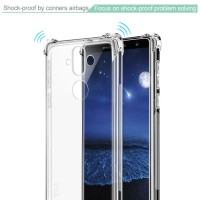 Anti Crack Shock Resistant Case Silicon For Nokia 8 Sirocco By IMAK
