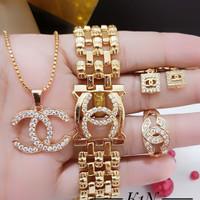 jam tangan channel jam tangan gucci set emas xuping imitasi