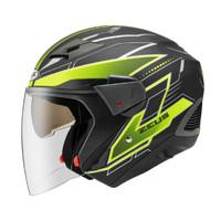 Helm Zeus ZS611 / Z611 Mblack Yellow