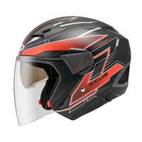 Helm Zeus ZS611 / Z611 TT18 Mblack Red