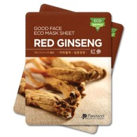 Korean Essence Eco Mask Sheet RED GINSENG Moisture / Masker Korea