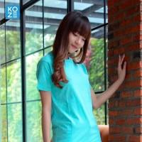 Kaos Polos Koze Combed 30 s ( Premium Comfort Tosca Green )