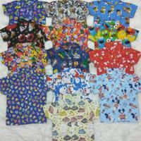 Kemeja Motif Anak Cowok 1 - 5 Tahun / Baju Atasan Hem Anak Laki