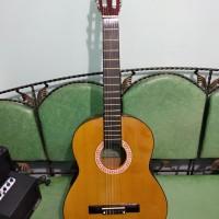 Gitar Classic Nylon Yamaha Warna Mustard Murah Jakarta