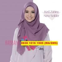 RABBANI Kerudung/Jilbab/Hijab Segi Empat/Segiempat Polos Zahira Solder