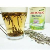 WT Gamboeng kaleng 50 gram / white tea /gambung
