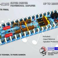 Kit POWER AMPLIFIER JBL-6295 SUPER DRIVER