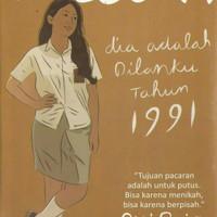 Novel Laris - Dilan 1991 (Ori & Diskon)
