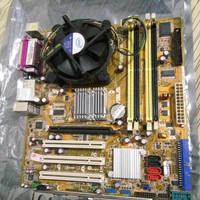 PAKET DUAL CORE + Mainboard LGA motherboard ddr2 bukan G31 G41 am2 am3