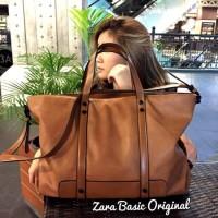 [ PROMO ] Tas wanita branded handbag cewek murah import, Zara basic