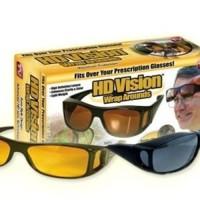 [ PROMO ] HD vision wrap arounds | kacamata anti silau (isi 2 pcs)