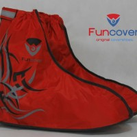 [ PROMO ] Cover Shoes Anti Air Funcover, jas hujan sepatu FUNCOVER