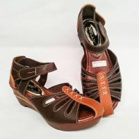 [ PROMO ] Sepatu Wanita Wedges Replika kickers 1020 mulan