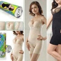 [ PROMO ] Bambo Kaleng Slimming Suit S-M Hitam