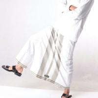 Celana Sarung Jumbo Dewasa Bin Affan Putih Cesar Sarung Celana Sarcel