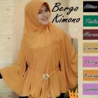 Exclusive Jilbab/ Hijab Bergo Kimono Premium