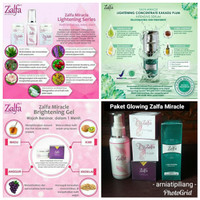 Paket Glowing Zalfa Miracle