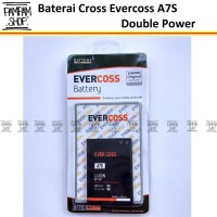 Baterai Cross Evercoss A7S Original Double Power | Batre, Evercross HP