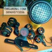 Promo Paket Lampu Motor Custom / Paket Lampu Japstyle dll