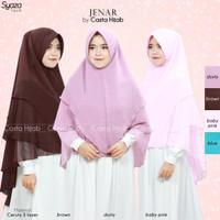Jilbab Khimar Syari JUMBO Cantik Murah JENAR (GJ)