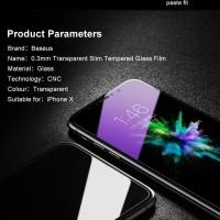 MURAH ! Baseus Tempered Glass Anti Blue Steel Film 0.3mm for iPhone X