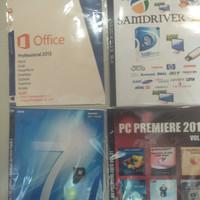 Paket Windows 7 x64 dan driverpack new 7DvD