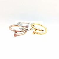 cincin nail paku cartier stainless - Rosegold, 7
