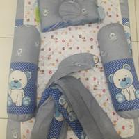 Set kasur bantal guling perlak gendongan perlengkapan bayi baru lahir