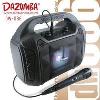 Speaker Karaoke 1 Mic Bluetooth n Radio Dazumba DW086