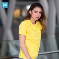 Kaos Polos Koze Combed 30 s ( Premium Comfort Yellow )