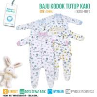SLEEPSUIT JUMPER TUTUP KAKI MOTIF (ISI 2PCS) - KDSK S-M-L