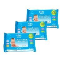 Pure baby Wipes H&M Aloe Vera 3x10s