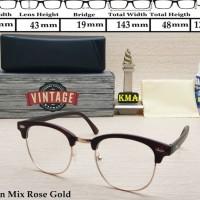 kacamata minus VINTAGE frame kacamata club master frame kacamata retro