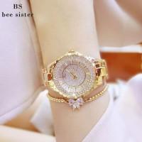 PJT40 BS Merek Wanita Gelang Jam tangan Mewah Wanita Berlian Imitasi J