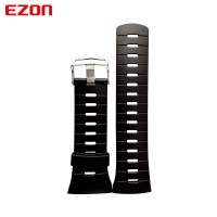 Tali Jam EZON Olahraga Menonton Asli Silikon Karet Gelang Import Strap