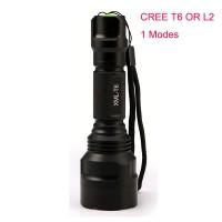 PR24 1 mode c8 led senter Taktis cree XML L2 T6 XM-L2 torch led Waterp