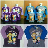 Kaos Couple Keluarga (UK ANAK) Kiddos Family My Team