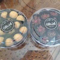 Paket kue Kering Nastar dan Semprit Coklat