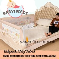 83 cm Baby Bedrail Bed rail Kasur bayi pengaman kasur bayi 180 cm