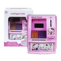 Mainan Edukasi Anak - Celengan ATM Mini Happy Bank Chip