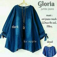 Gloria Jumbo Jeans baju jumbo wanita baju atasan wanita tunik blouse