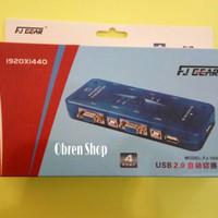 KVM Switch USB 4 Port Auto