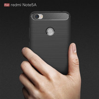 Ipaky carbon softshell case xiaomi redmi note 5a pro